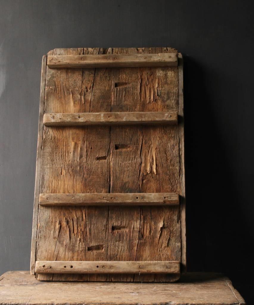 Prachtig Oud houten raam mal-4