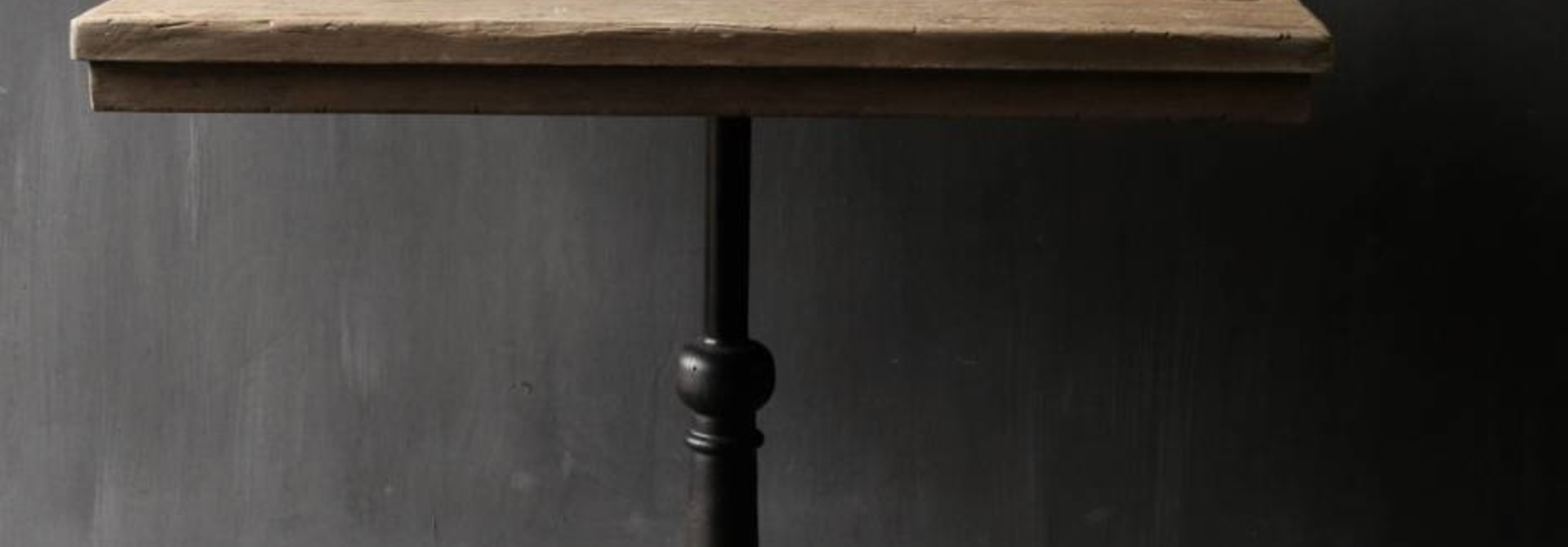 ijzeren tafel poot