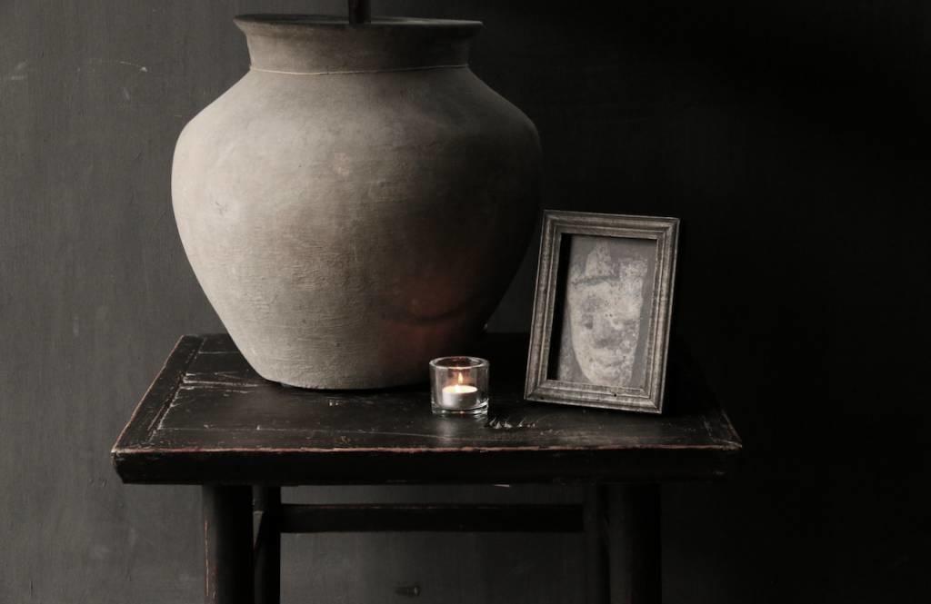 Alter authentischer hölzerner Salon / Beistelltisch Quadrat Einzigartiger Artikel-2