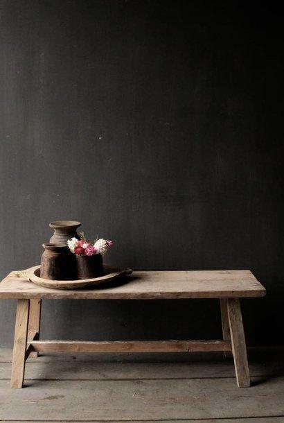 Salontafel gemaakt van oud hout