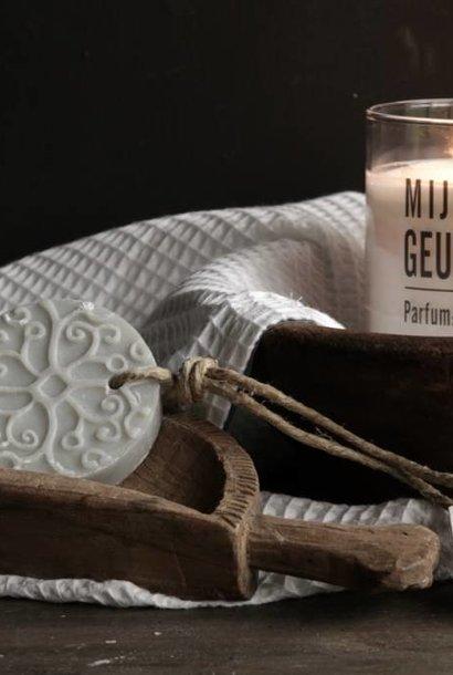 Batik zeep licht grijs parfum cotton