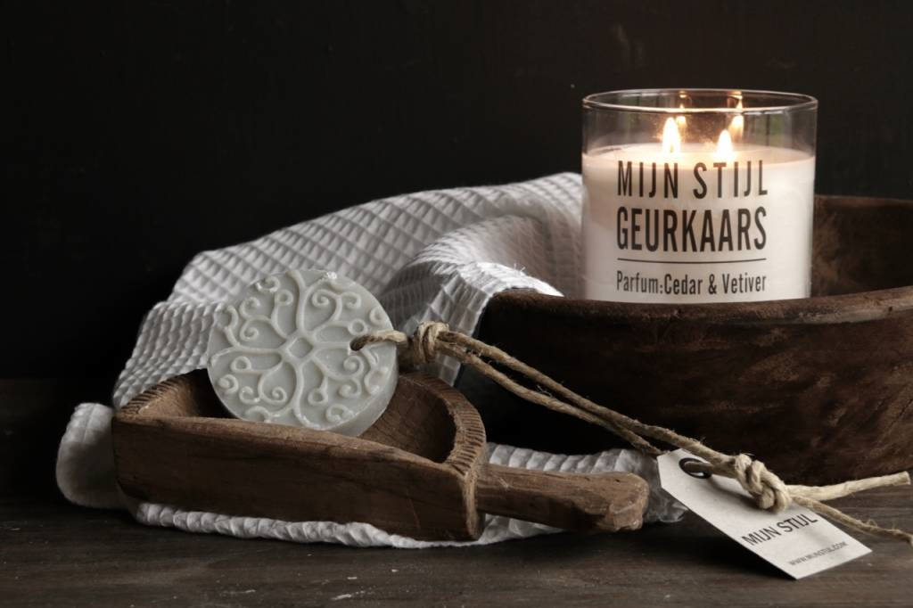 Batik soap light gray perfume cotton-1
