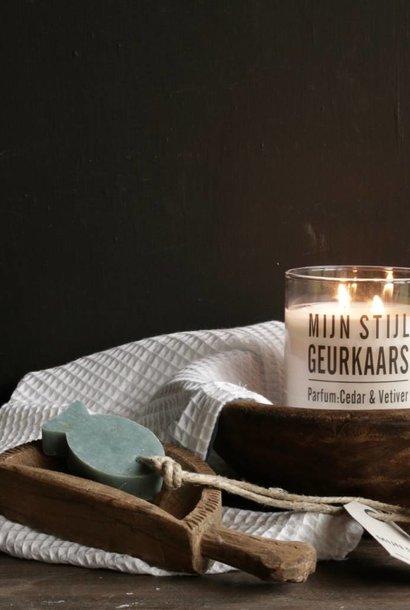 Zeep Hanger vis  met oregano parfum olive