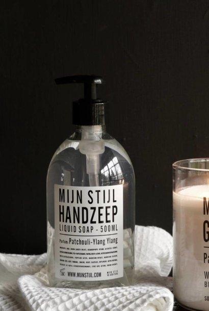 Hand soap perfume Patchouli-Ylang-Ylang