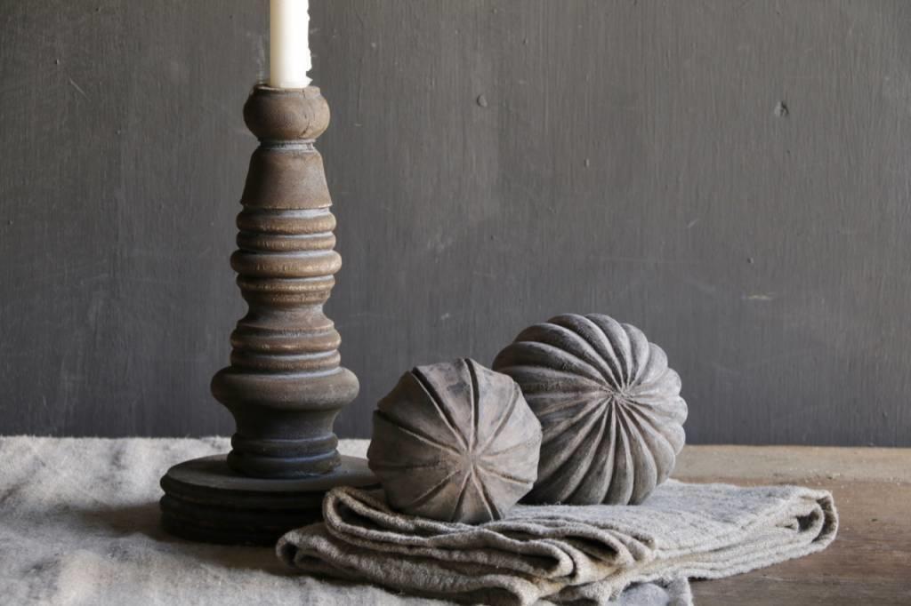 Wooden candlestick-4