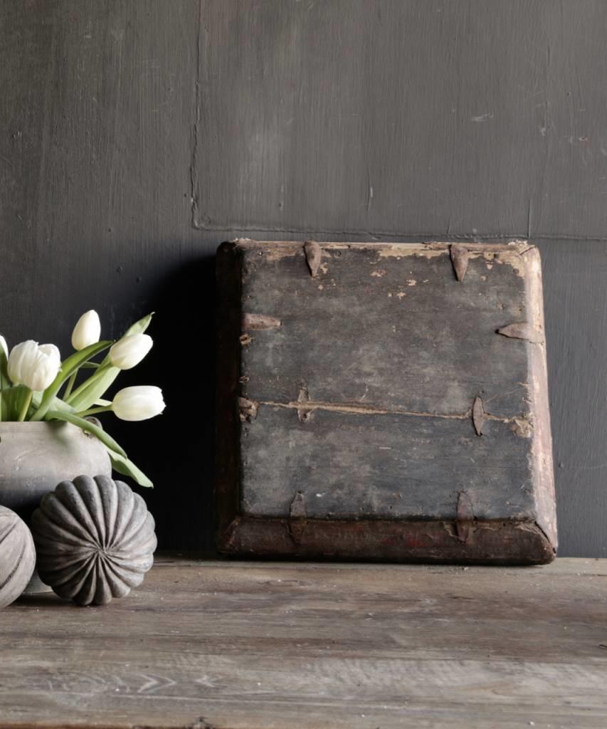 Authentiek Oud houten dienblad-2