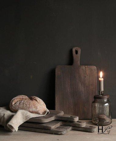 Aura peeperkorn Oud houten broodplank /Chopping board Aura peeperkorn