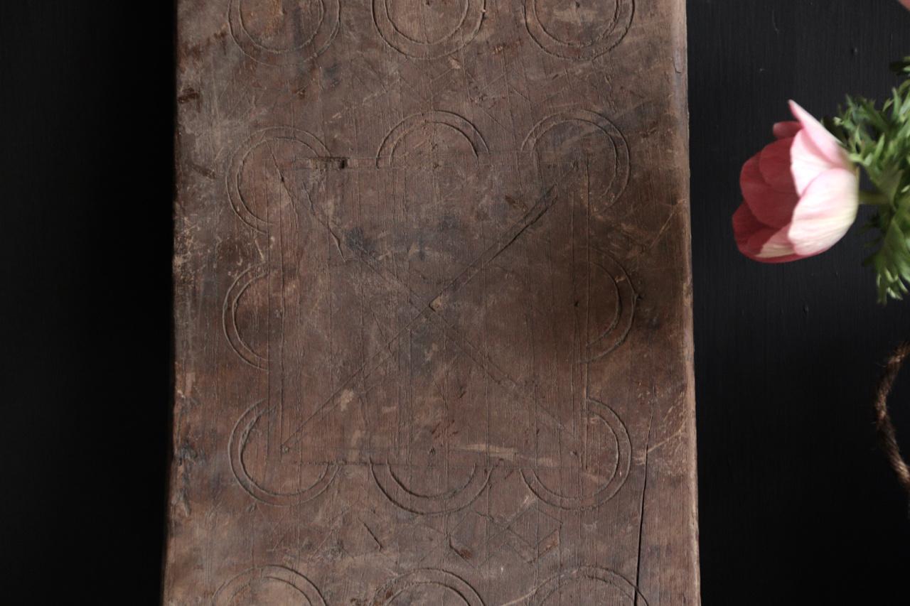 Oud Nepalees Bajot plankje-3