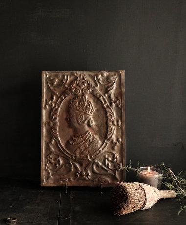 Aura peeperkorn Wand paneel metaal Brons  Aura Peeperkorn