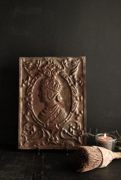 Wandpaneel aus Metall Bronze Aura Peeperkorn