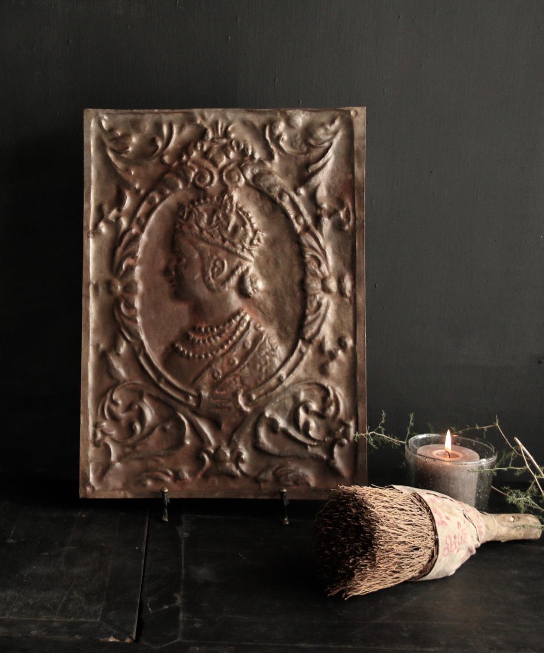 Wandpaneel aus Metall Bronze Aura Peeperkorn-2