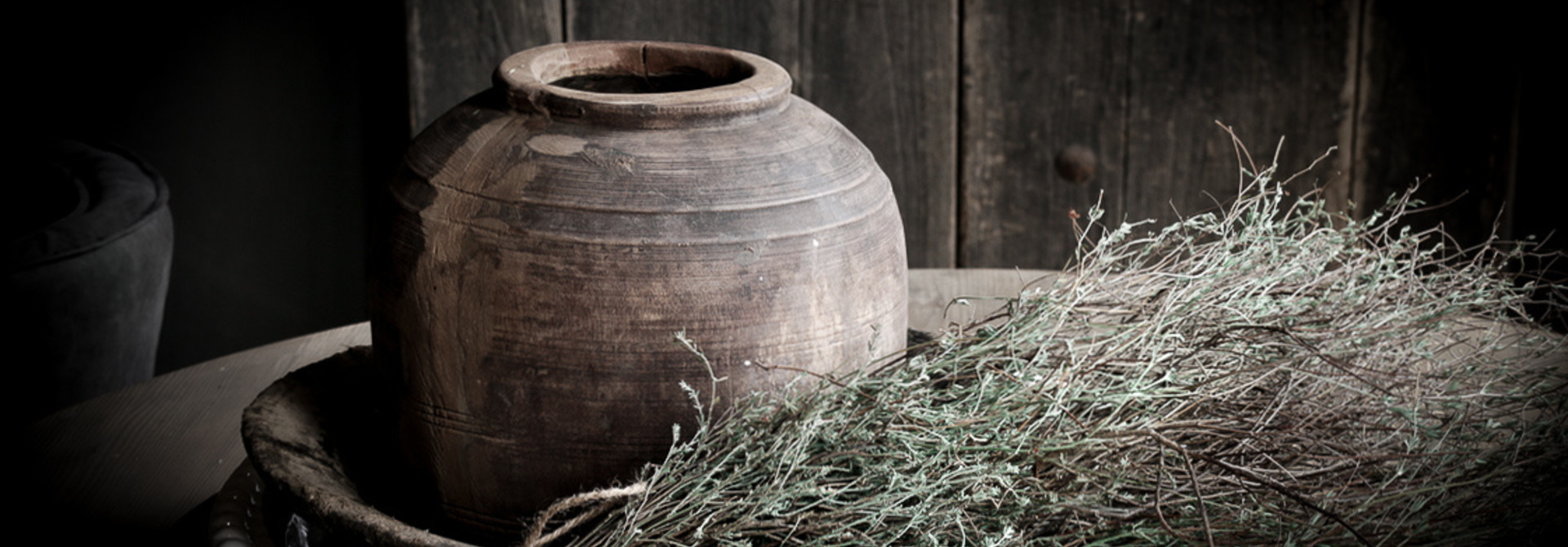 Nepalese wooden jugs