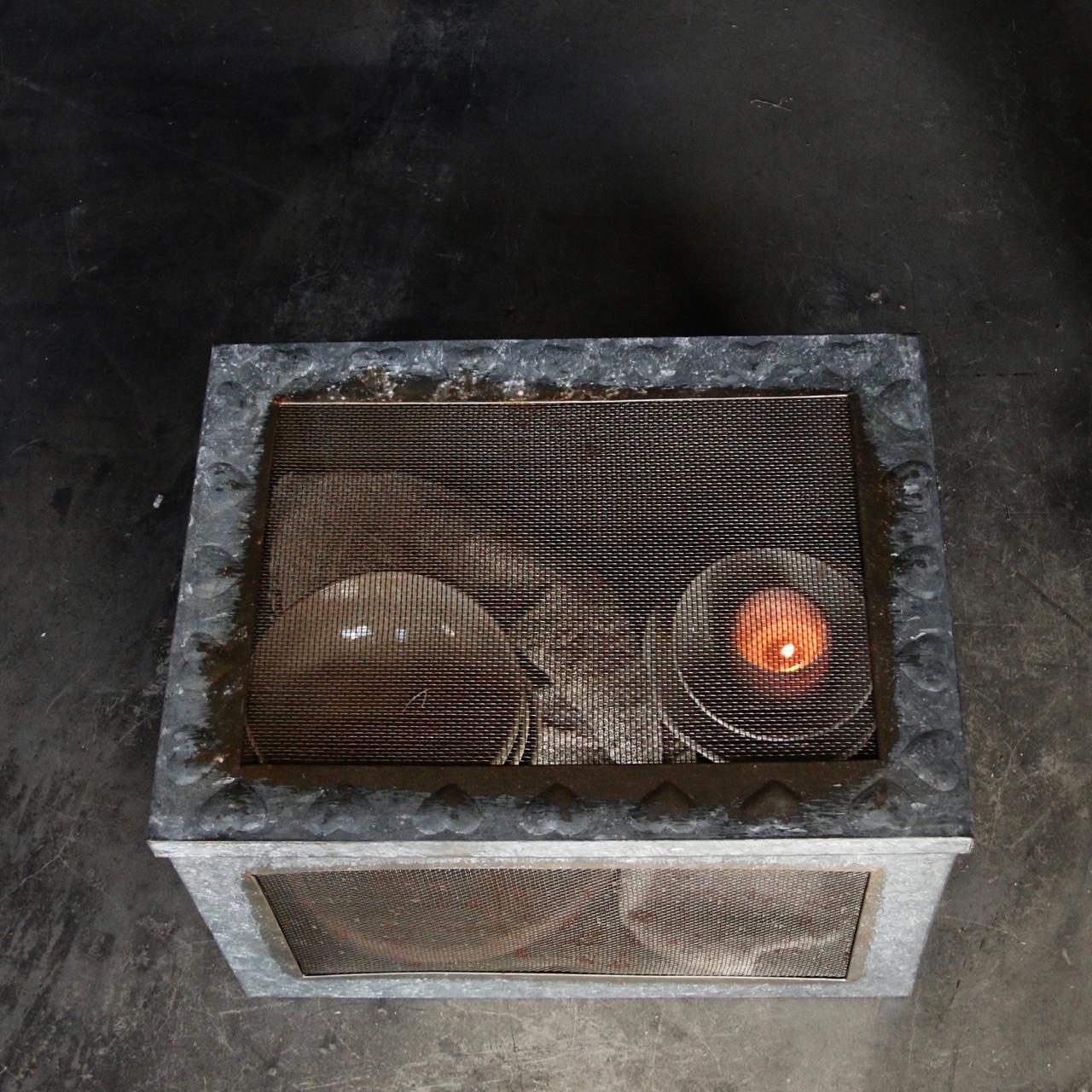 Zinc box with mesh-5