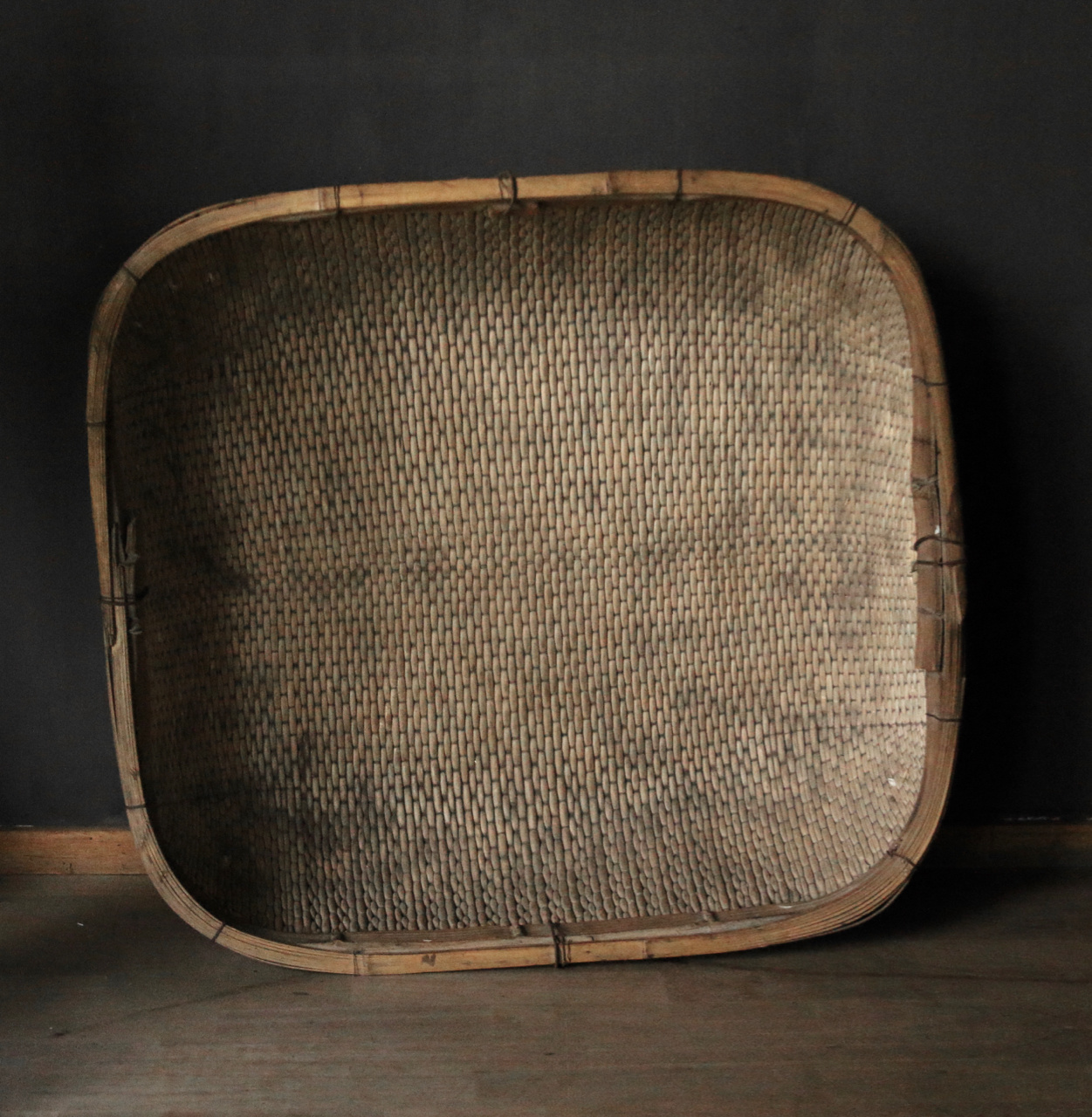Authentic square XXL wicker basket-4