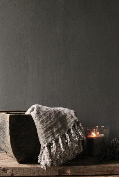 Prachtig Origineel gebruikt Oud houten zaai/Rijst bak