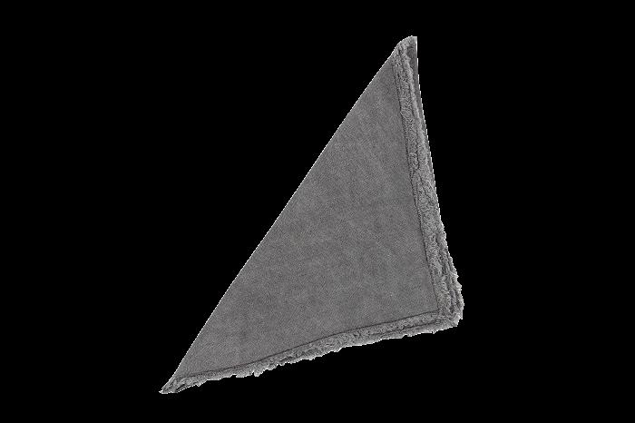Stoer servet /Grijs-2
