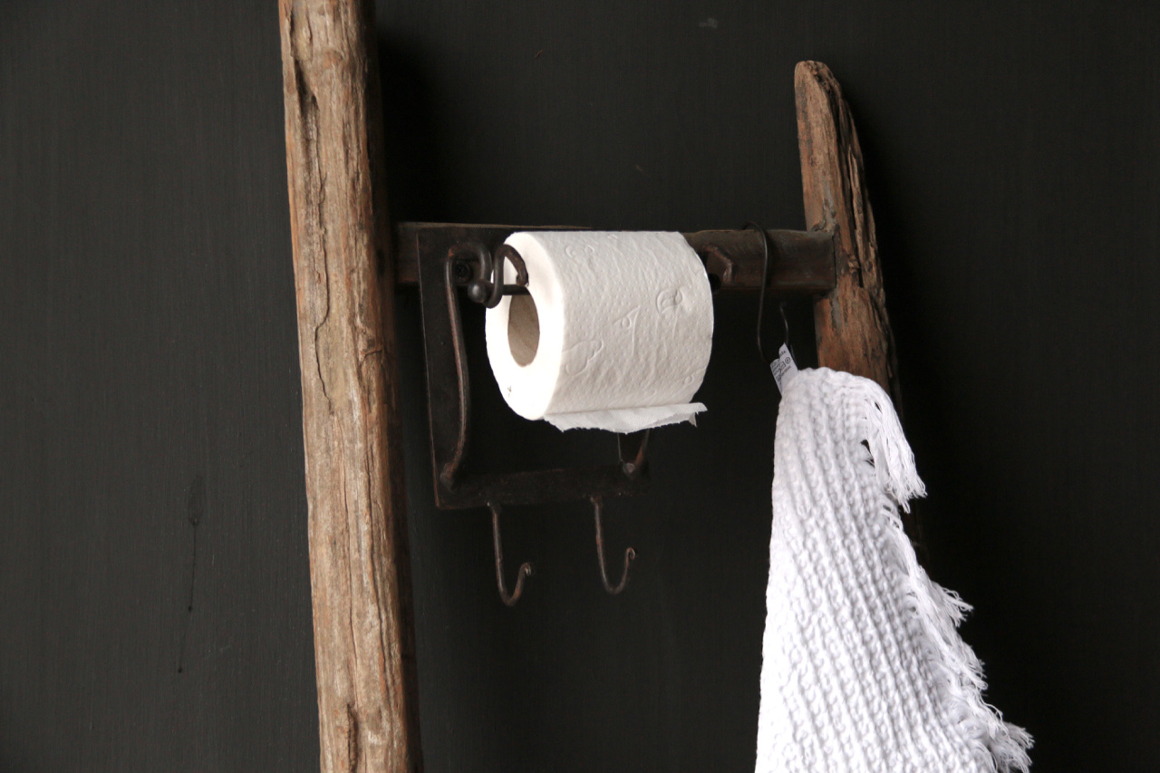 Toilet paper Toilet roll holder Iron-1