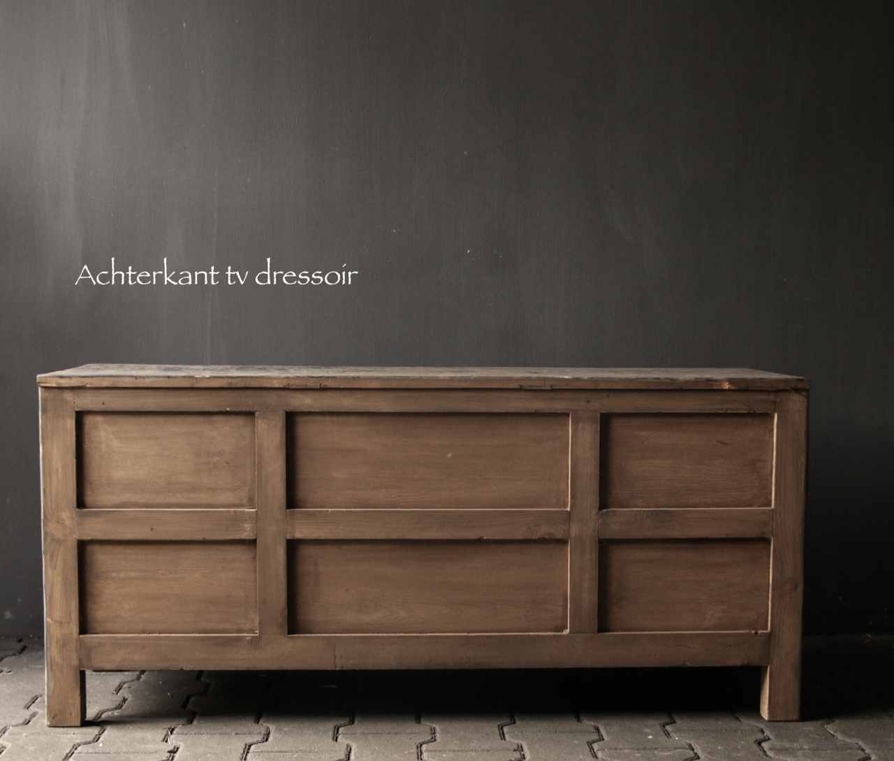 Tv Furniture / sideboard from old Elmwood-4