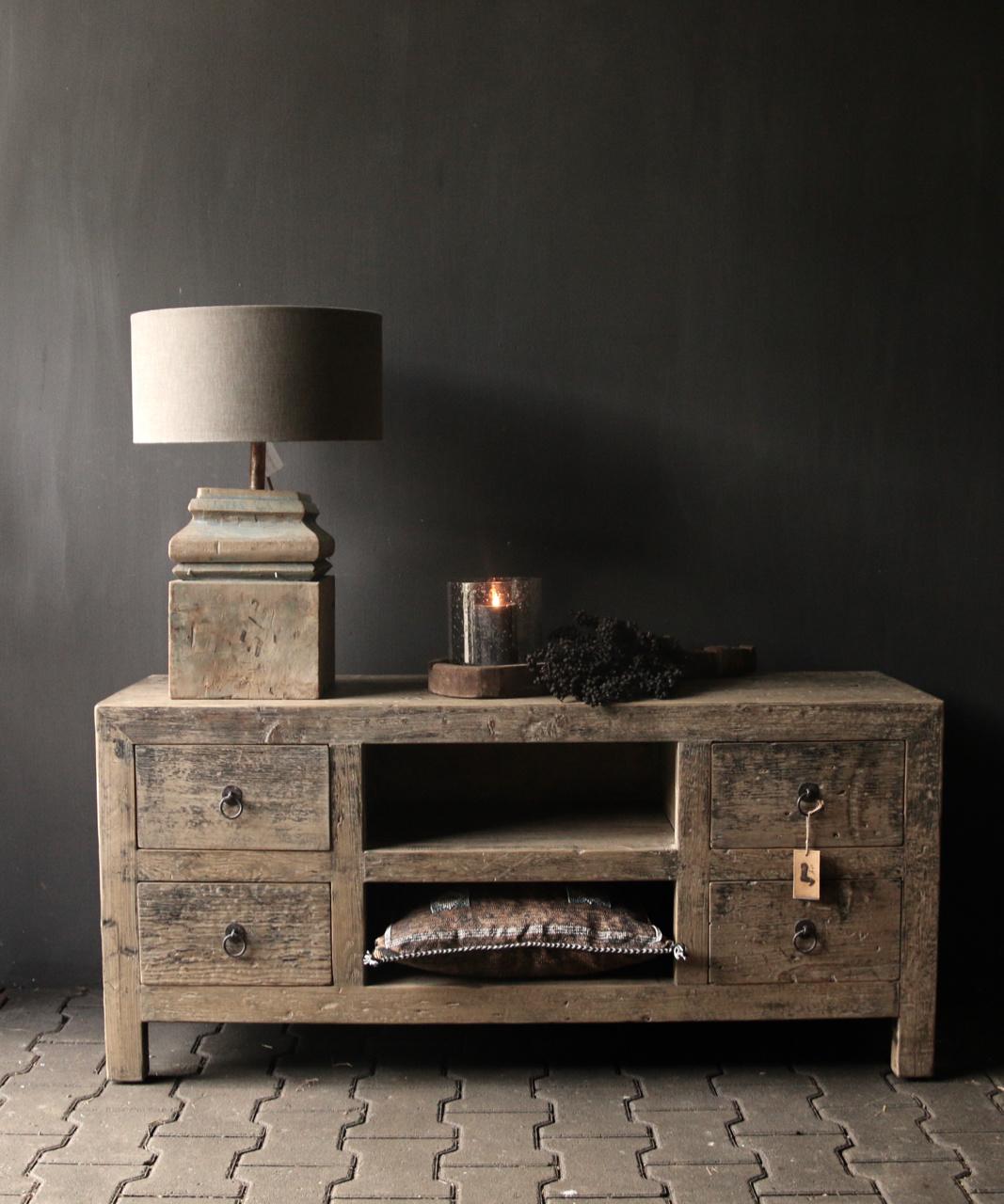 Tv Furniture / sideboard from old Elmwood-1