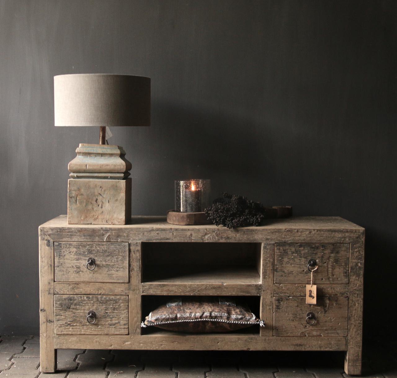 Tv Furniture / sideboard from old Elmwood-2