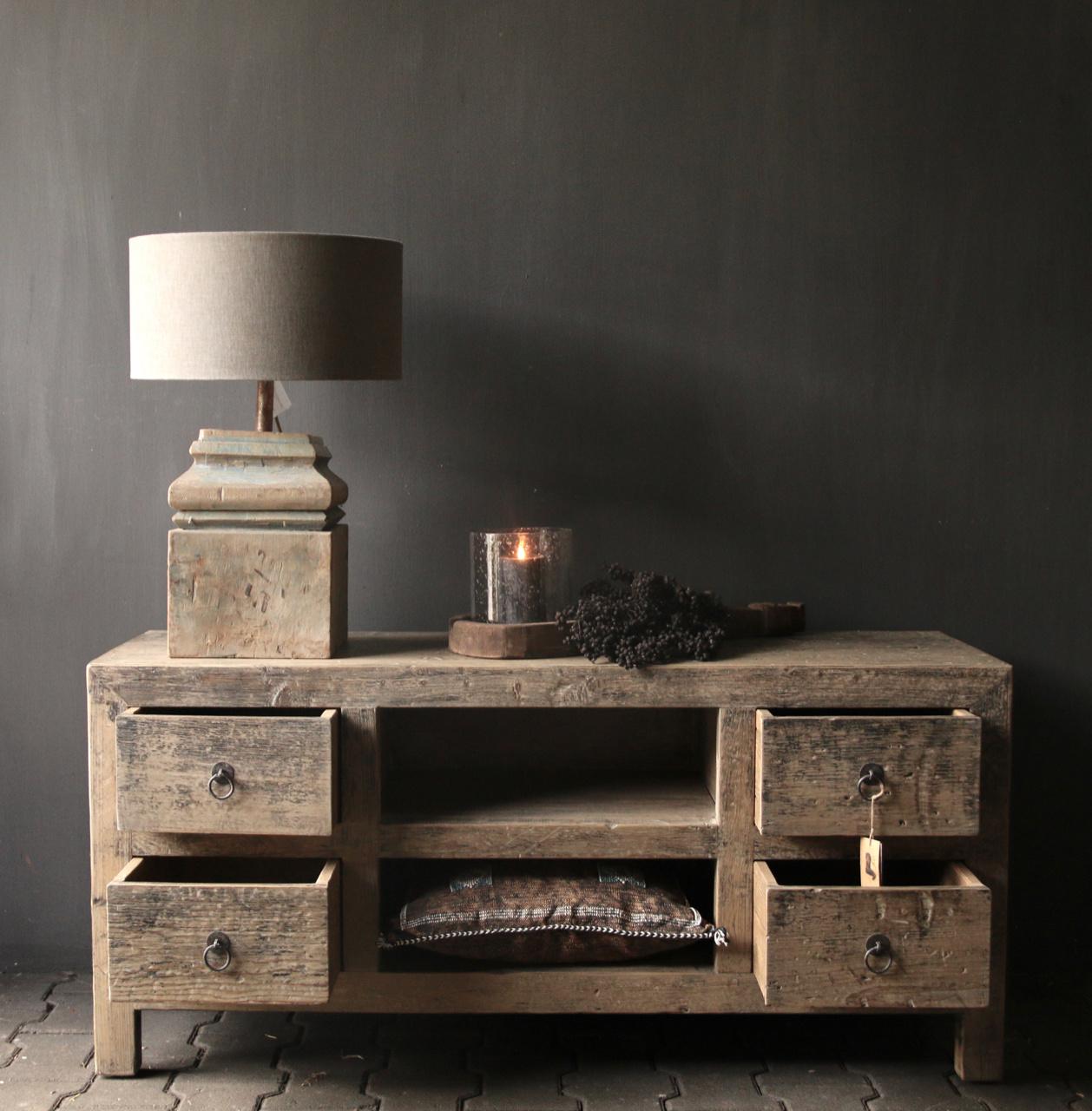Tv Furniture / sideboard from old Elmwood-3