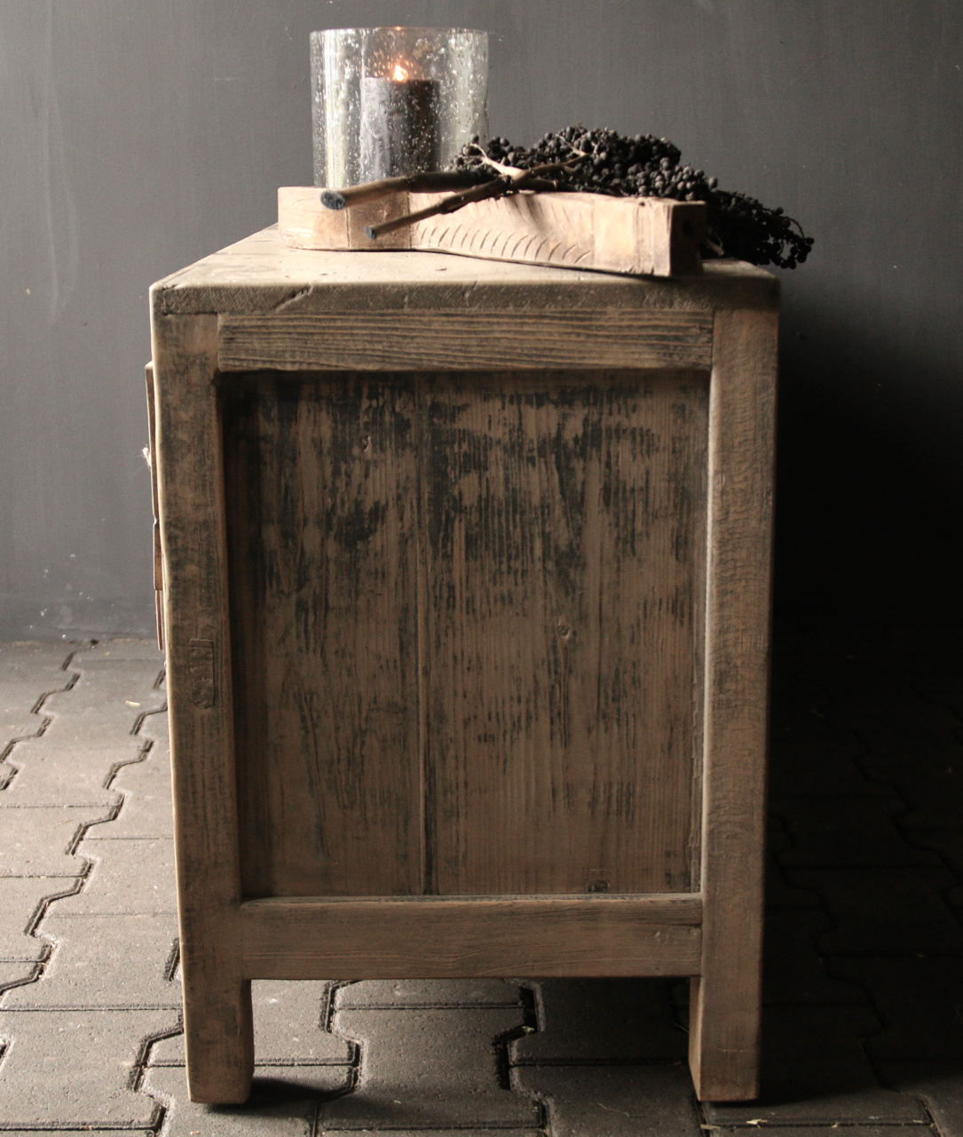 Tv Furniture / sideboard from old Elmwood-5