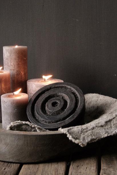 Noch alter hölzerner indischer Batikstempel