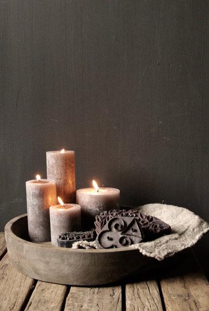 Alter hölzerner indischer Batikstempel