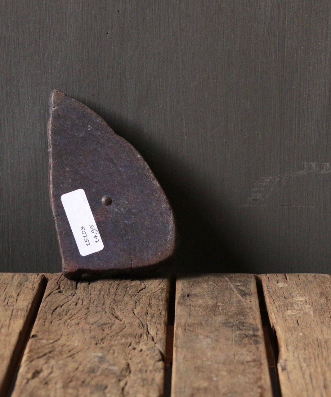 Oude houten Indische batik stempel-3