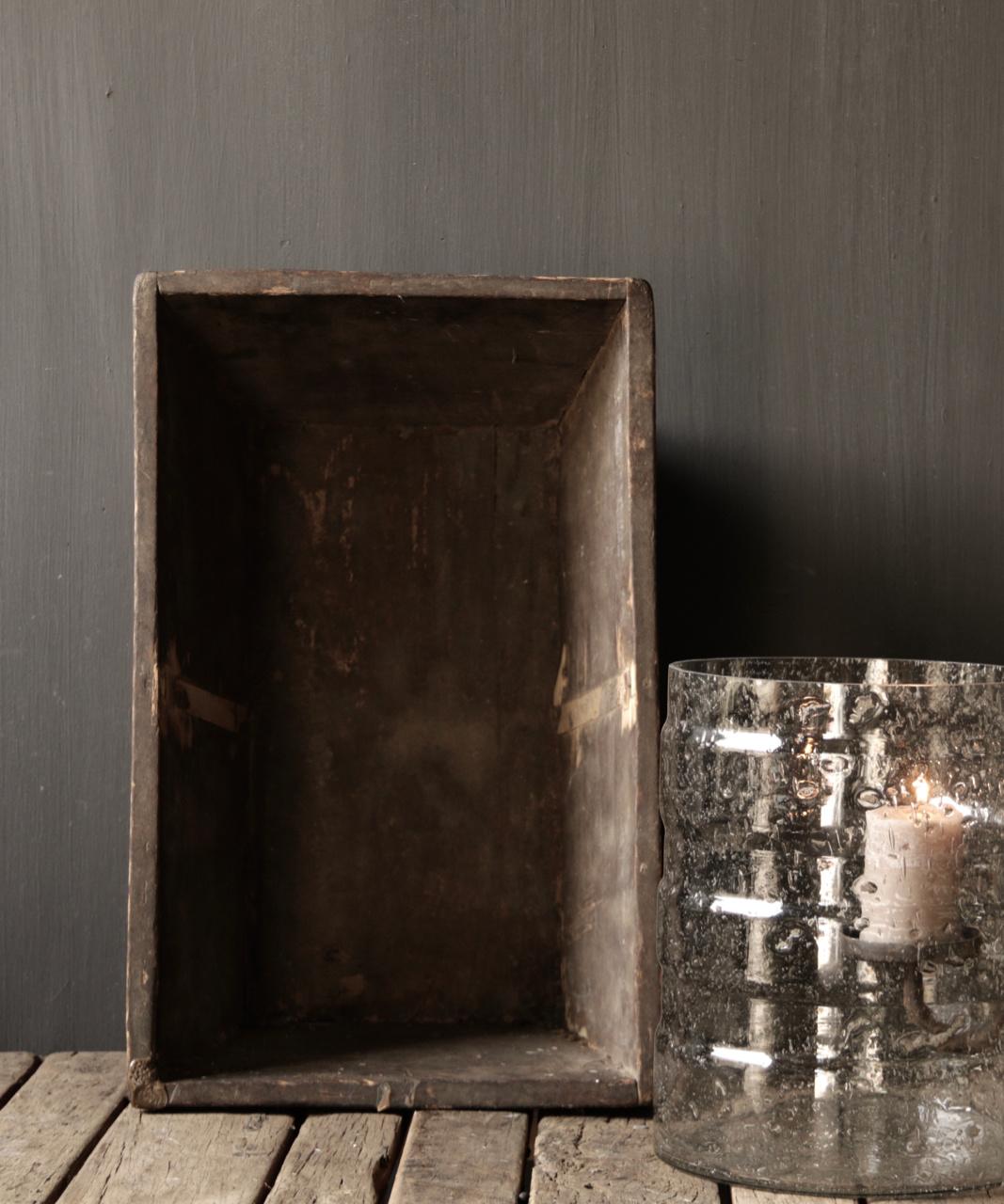 Originele oude houten Bak/Trog-2
