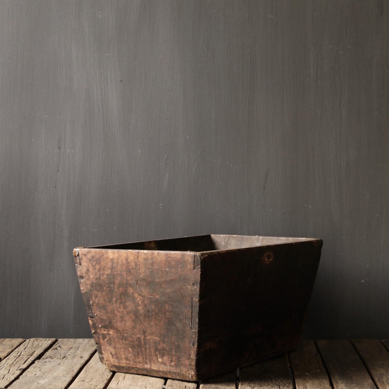 Original old wooden Bin / Trough-3