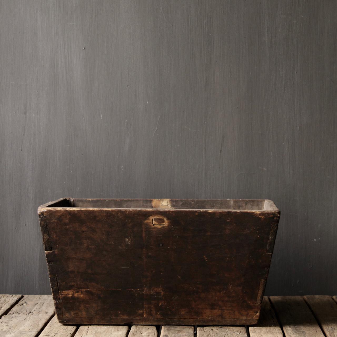 Originele oude houten Bak/Trog-4