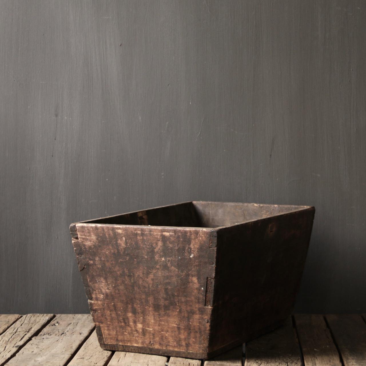 Originele oude houten Bak/Trog-6