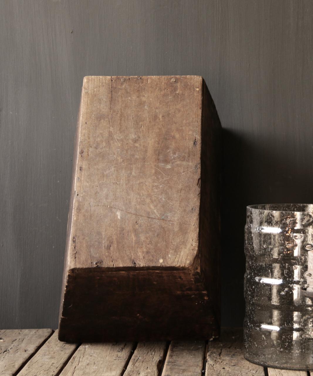 Originele oude houten Bak/Trog-7