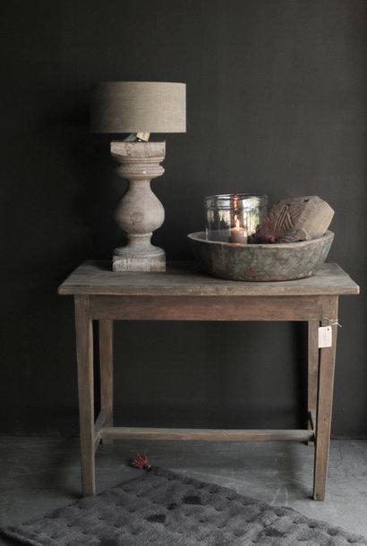 *Gereserveerd*Oud Authentiek stoer klein driftwood  houten tafeltje