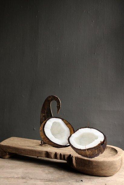 Authentieke kokosnoot snijder