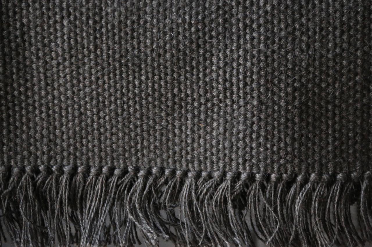 Zwart Jute Vloerkleed  80x160cm-2