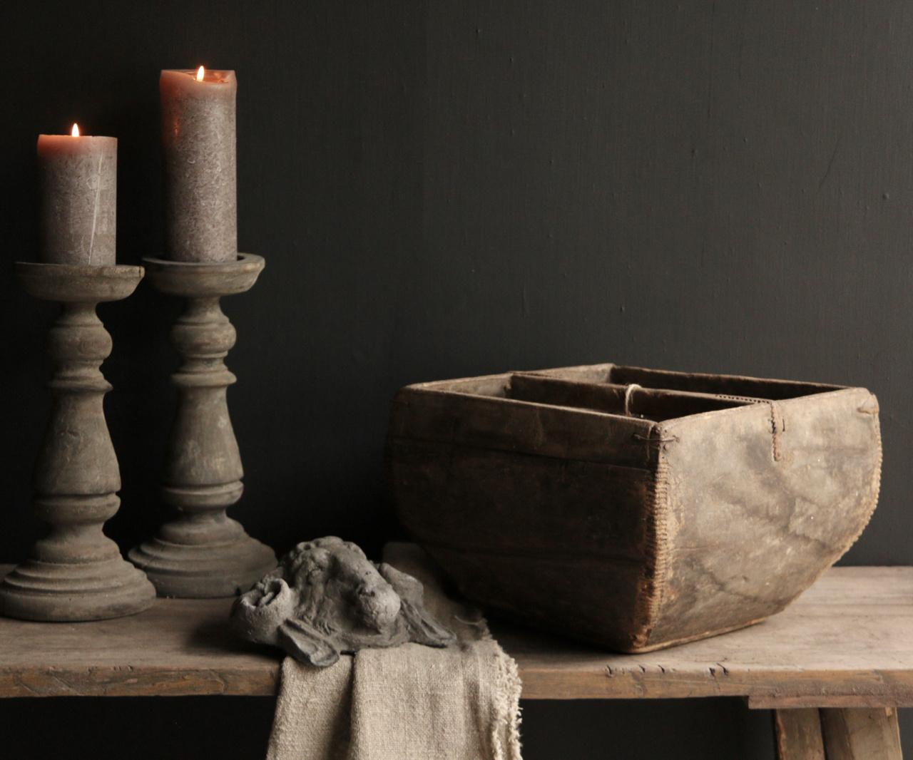 Oude houten zaai/Rijst bak-5