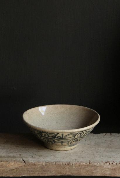 Old porcelain bowl