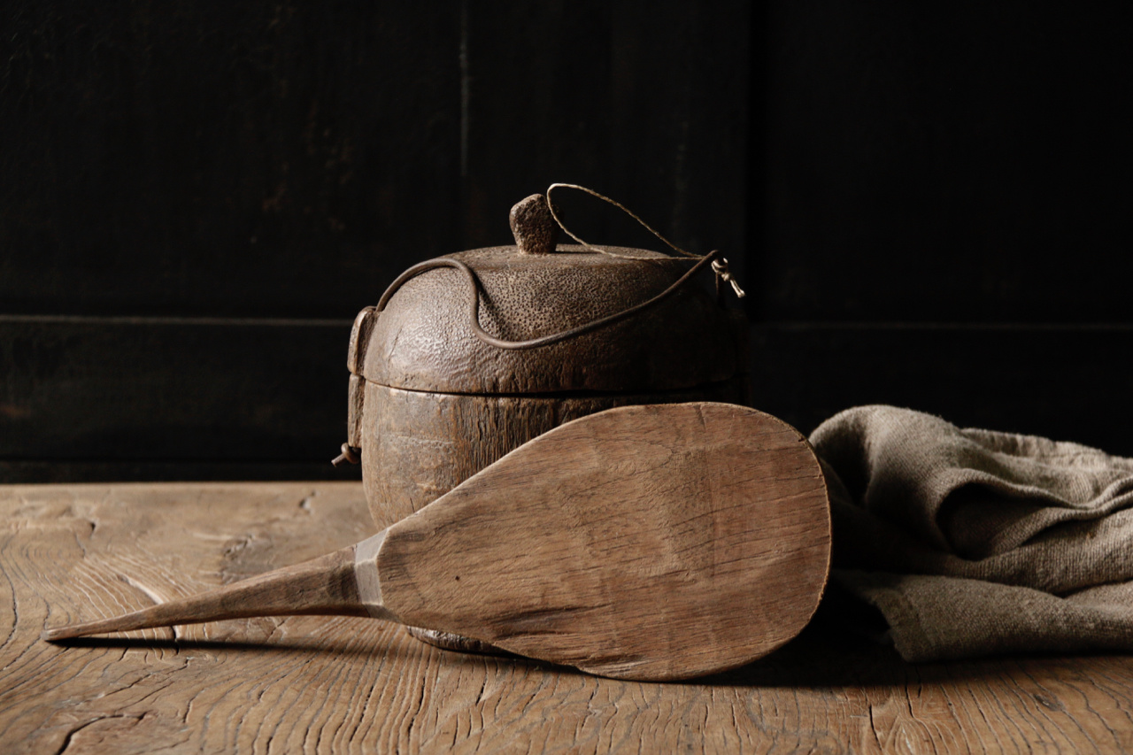 Authentic wooden rice spoon-6