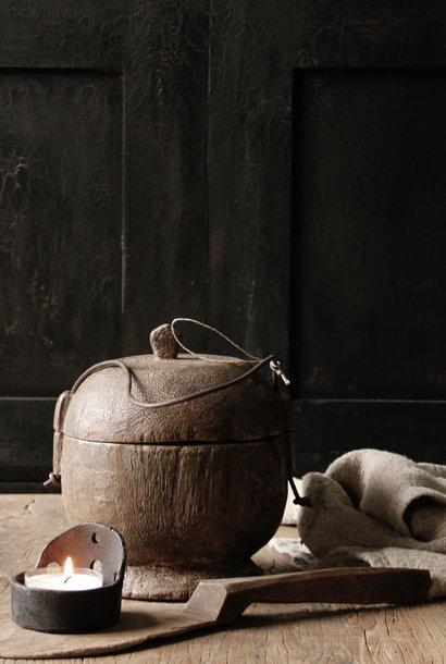 Authentischer Reislöffel aus Holz