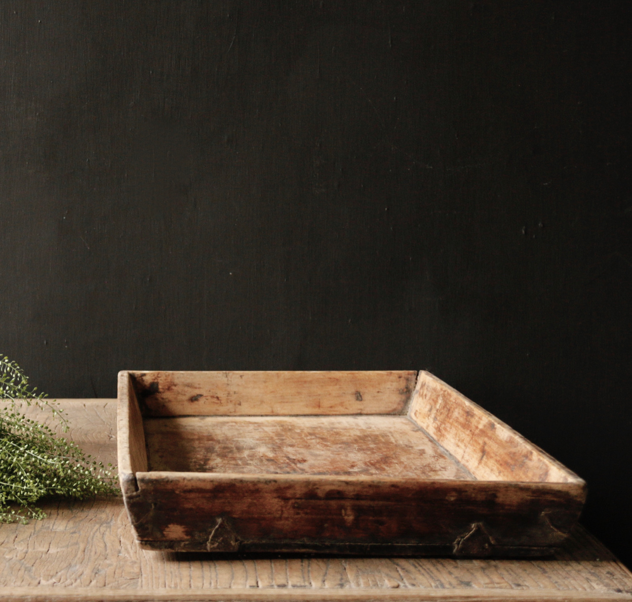 Authentic Old wooden tray-5