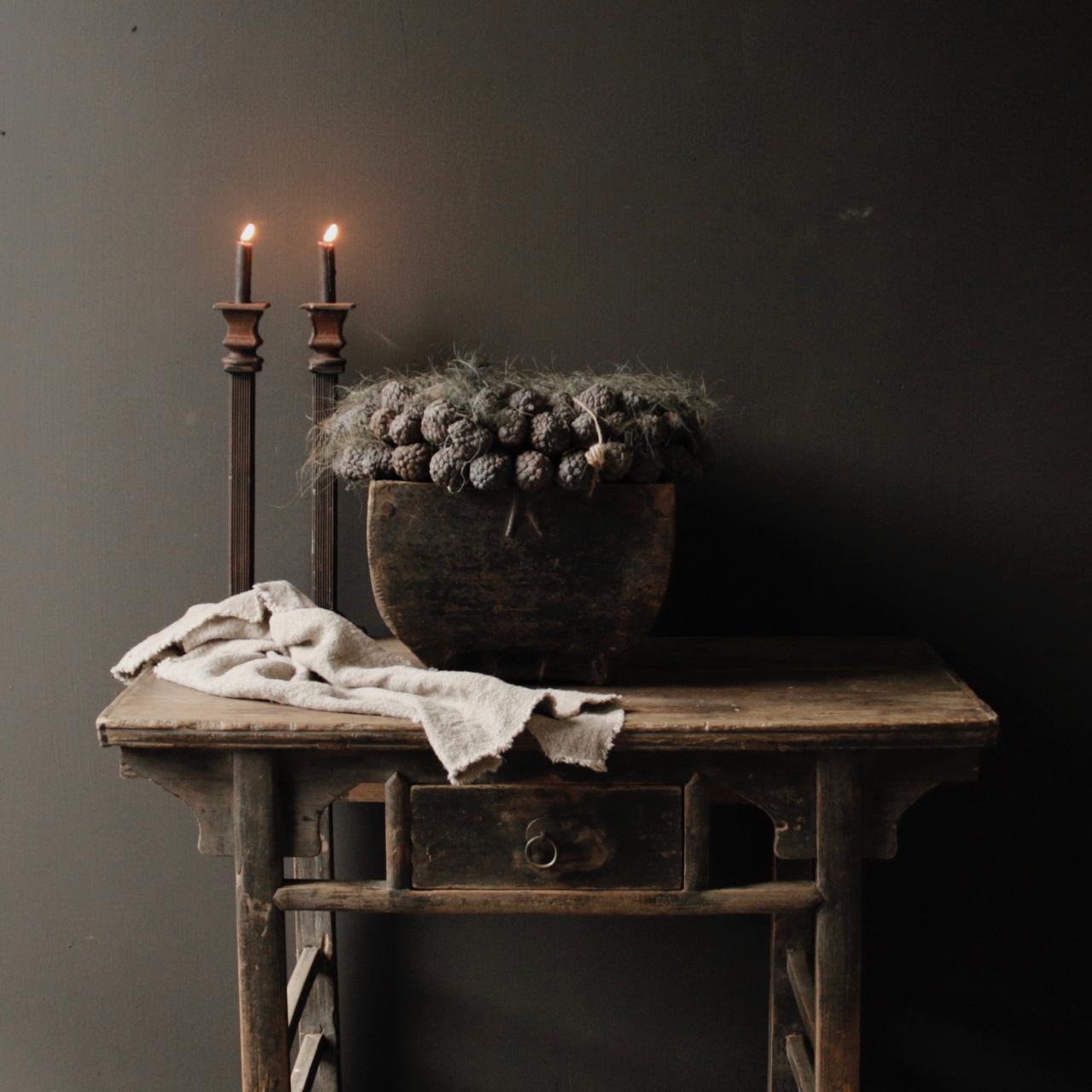 Kerzenhalter aus Gusseisen-5