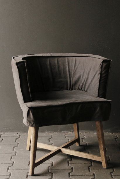 * Reserved * Showroom model Woodie / Woody chair in the color Anthracite