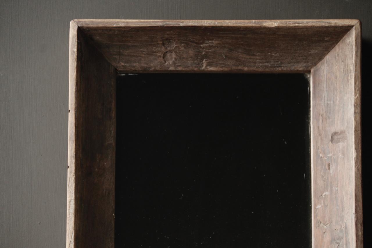 Schöner starker Spiegel mit Holzrahmen-3