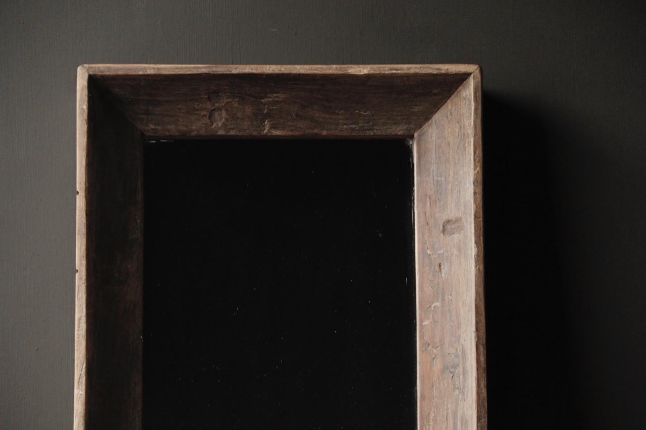 Schöner starker Spiegel mit Holzrahmen-6