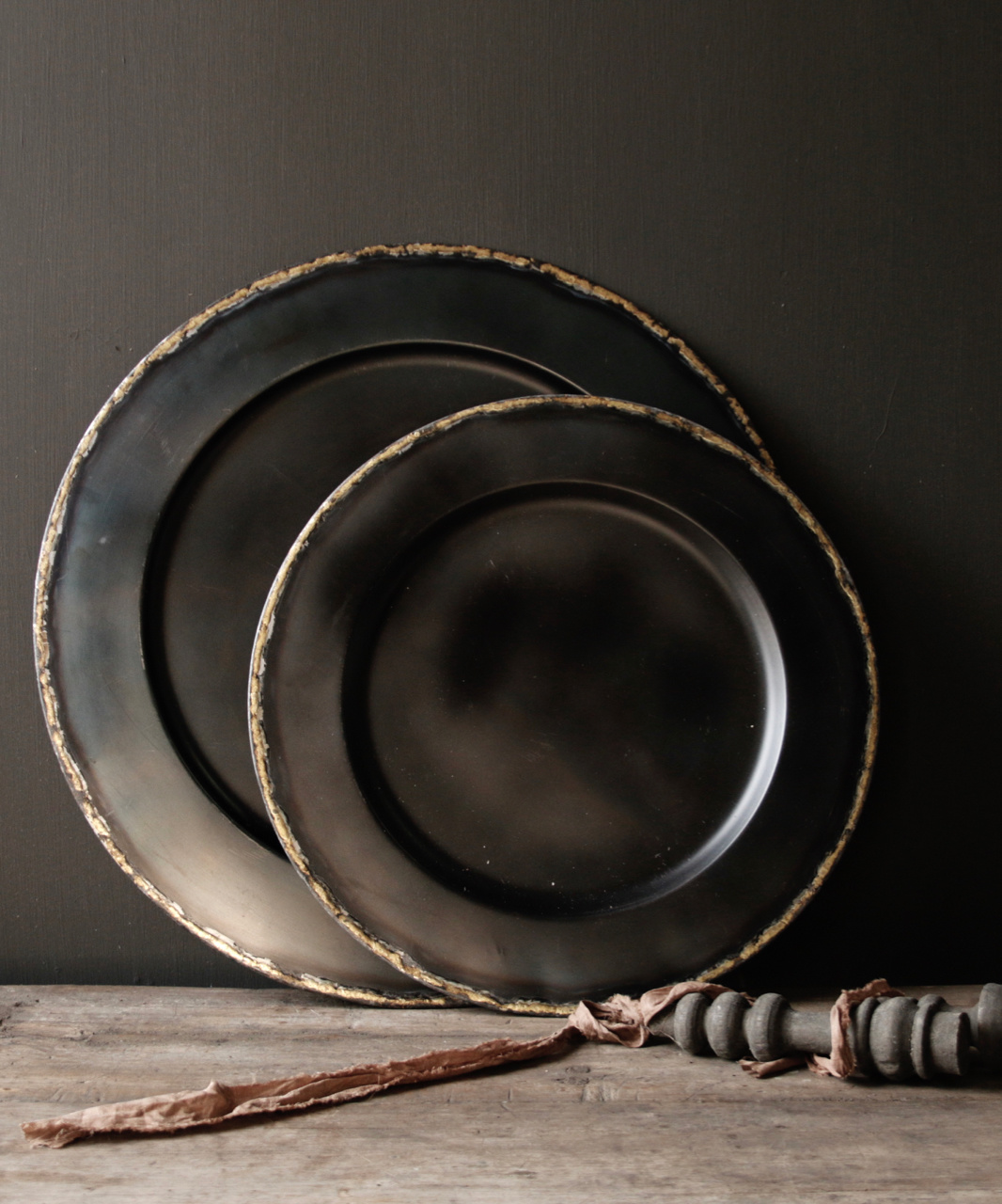 Metallplatte Schwarz / Kupferblech-2