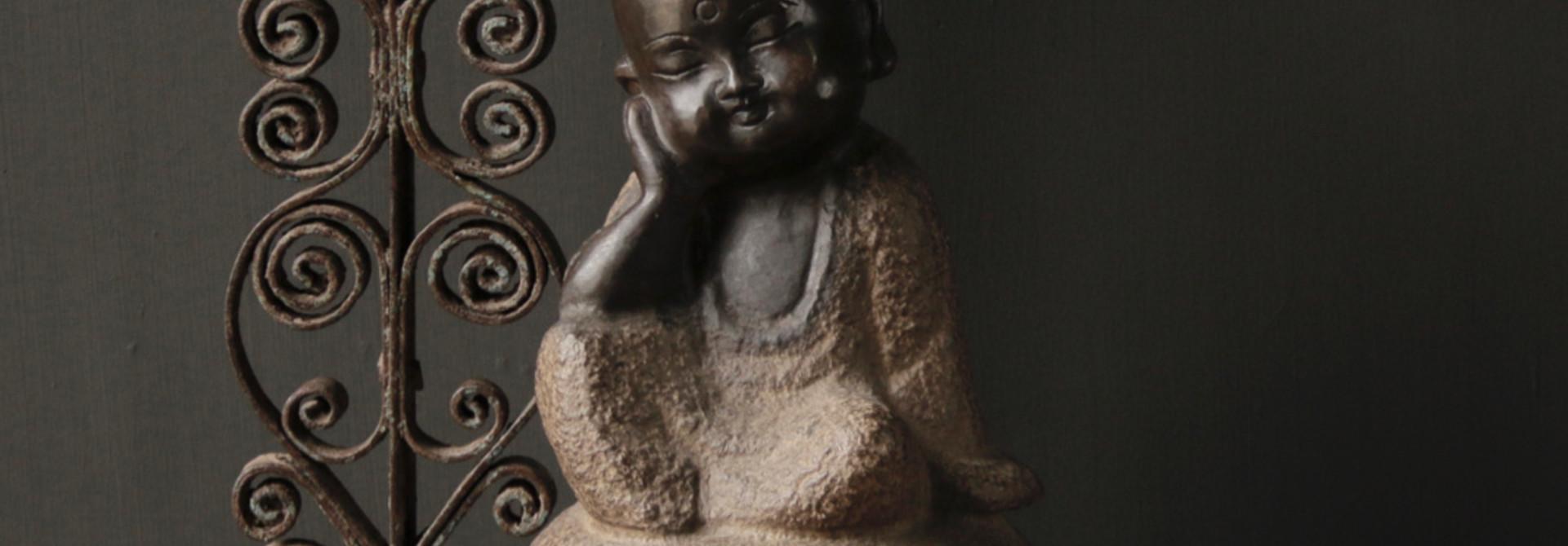 Hand gemaakte Stenen  Monnik