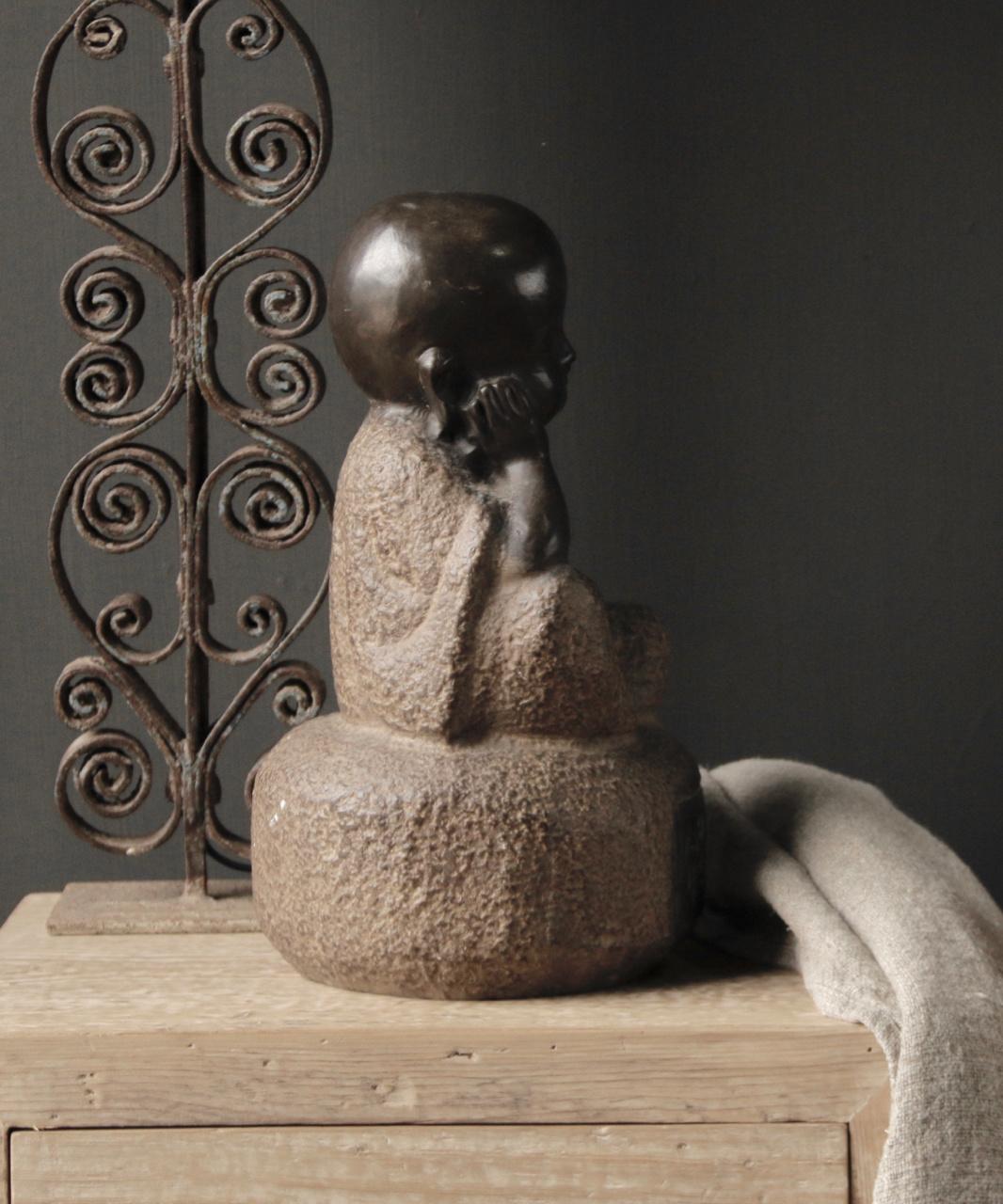 Hand gemaakte Stenen  Monnik-2