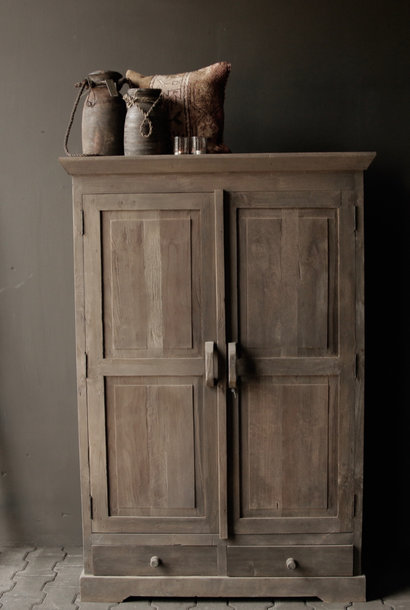 Beautiful Tough Rural old wooden cupboard